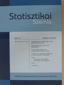 Szabó László - Statisztikai Szemle 2010. október-november [antikvár]