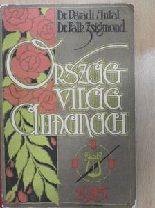 Ágai Adolf - Ország-világ almanach 1915 [antikvár]