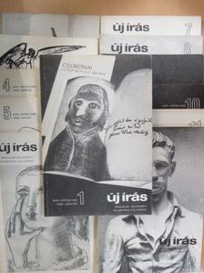 Ágh István - Új Írás 1984. január-december [antikvár]