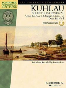 KUHLAU - SELECTED SONATINAS OP.20, NOS.1-3, OP.55, NOS. 1-3, OP.88, NO.3, CD INCLUDED