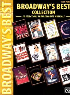 BROADWAY'S BEST COLLECTION. 50 SELECTIONS FROM FAVORITE MUSICALS. EASY PIANO