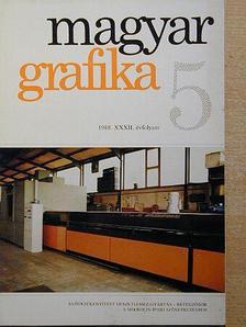 Berkes Erzsébet - Magyar Grafika 1988/5. [antikvár]