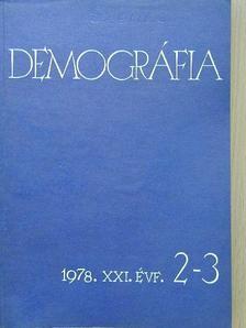 Blair R. Holmes - Demográfia 1978/2-3. [antikvár]
