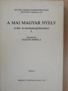 Berrár Jolán - A mai magyar nyelv I. [antikvár]