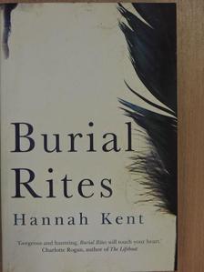Hannah Kent - Burial Rites [antikvár]