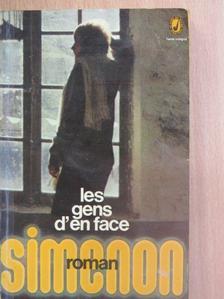 Georges Simenon - Les gens d'en face [antikvár]