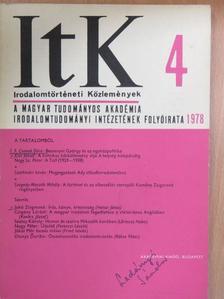Albert Gábor - Irodalomtörténeti Közlemények 1978/4. [antikvár]