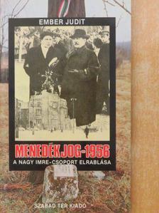 Bácskai Vera - Menedékjog-1956 [antikvár]