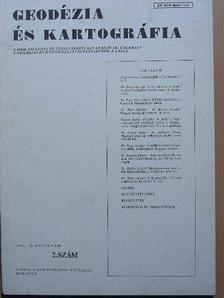 Dr. Balázs László - Geodézia és kartográfia 1990/2. [antikvár]
