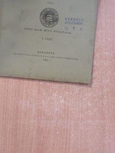 Hunfalvy Pál - Századok 1890. május 15. [antikvár]