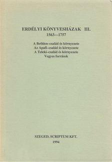 MONOK ISTVÁN - Erdélyi könyvesházak III. [antikvár]