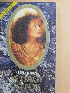René Barjavel - A nagy titok [antikvár]