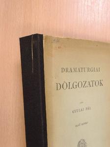 Bulwer - Dramaturgiai dolgozatok I. [antikvár]
