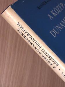 Banner János - A Közép-Dunamedence régészeti bibliográfiája [antikvár]