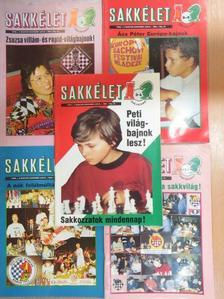 Almási Zoltán - Sakkélet 1992. (nem teljes évfolyam) [antikvár]
