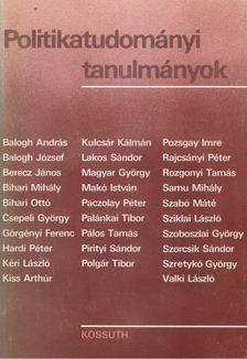 Polgár Tibor - Politikatudományi tanulmányok [antikvár]