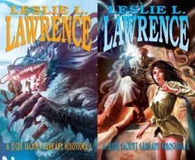 Leslie L. Lawrence - A JÉGBE FAGYOTT SÁRKÁNY KOLOSTORA I-II.
