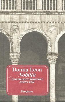 Donna Leon - Nobilta [antikvár]