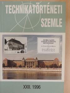 Bartha Lajos - Technikatörténeti szemle 1996/XXII. [antikvár]