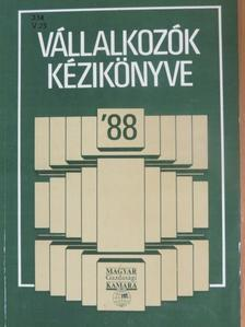 Dr. Kiss Zoltán - Vállalkozók kézikönyve '88 [antikvár]