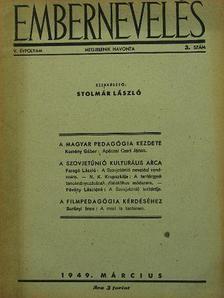 Faragó László - Embernevelés 1949. március [antikvár]