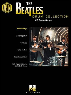 THE BEATLES DRUM COLLECTION. 25 GREAT SONGS