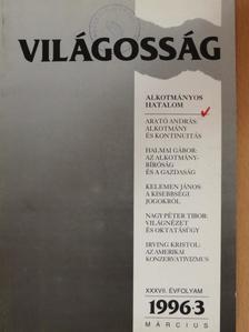 Arató András - Világosság 1996. március [antikvár]