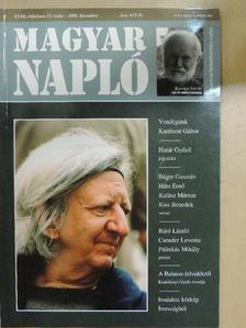 Báger Gusztáv - Magyar Napló 2006. december [antikvár]