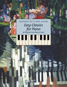 EASY CLASSICS FOR PIANO, 36 ORIGINALS FROM BACH TO SATIE (M.TÖPEL)