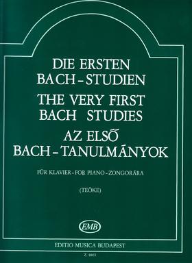 J. S. Bach - AZ ELSŐ BACH-TANULMÁNYOK ZONGORÁRA (TEÖKE)