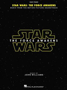 JOHN WILLIAMS - STAR WARS: THE FORCE AWAKENS, EASY PIANO