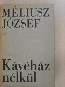 Méliusz József - Kávéház nélkül [antikvár]