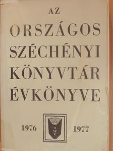 Borsa Gedeon - Az Országos Széchényi Könyvtár Évkönyve 1976-1977 [antikvár]