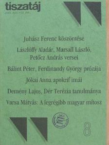 Bálint Péter - Tiszatáj 2003. augusztus [antikvár]