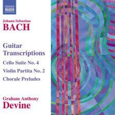 Bach - GUITAR TRANSCRIPTIONS CD GRAHAM ANTHONY DEVINE
