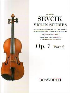 SEVCIK - STUDIES PREPARATORY TO THE SHAKE & DEVELOPMENT IN DOUBLE-STOPPING OP.7 PART 2 FOR VIOLIN