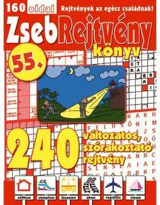 CSOSCH KIADÓ - ZsebRejtvény Könyv 55.