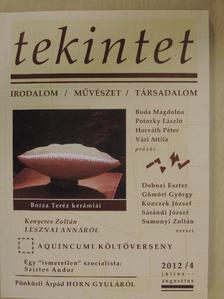 Bakó Endre - Tekintet 2012. július-augusztus [antikvár]