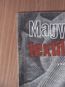 Bragyova Imre - Magyar Textiltechnika 1955. november-december [antikvár]