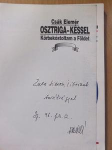 Csák Elemér - Osztriga - késsel (dedikált példány) [antikvár]