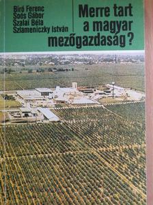 Bíró Ferenc - Merre tart a magyar mezőgazdaság? [antikvár]
