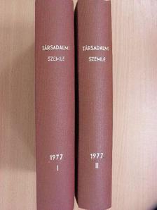 Aczél György - Társadalmi Szemle 1977. január-december I-II. [antikvár]