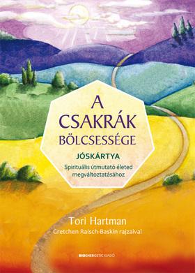 Tori Hartman - A csakrák bölcsessége-jóskártyával-Díszdobozban