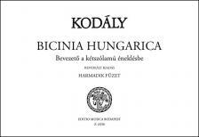 KOD - BICINIA HUNGARICA HARMADIK FÜZET, BEVEZETŐ A KÉTSZÓLAMÚ ÉNEKLÉSBE