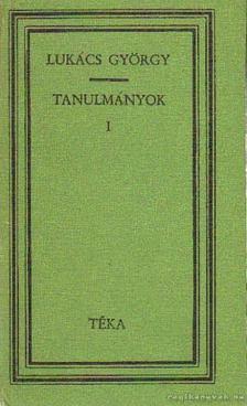 Lukács György - Tanulmányok I-II. [antikvár]