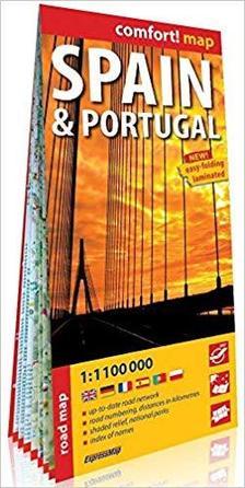 Expressmap - Spanyolország, Portugália Comfort térkép (Expressmap) 2019