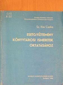 Baricz Zsolt - Esetgyűjtemény könyvtárosi ismeretek oktatásához [antikvár]