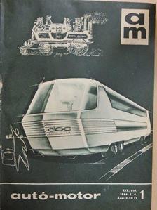 Almássy Tibor - Autó-Motor 1966. január-december [antikvár]