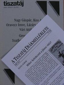 Alföldy Jenő - Tiszatáj 2000. május [antikvár]