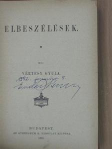 Vértesy Gyula - Elbeszélések [antikvár]
